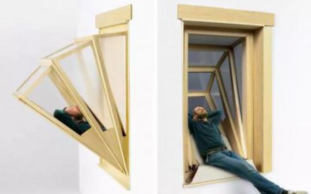 沒有陽台,窗戶一樣可以用!